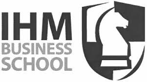 The logo for the IHM Business School in Sweden